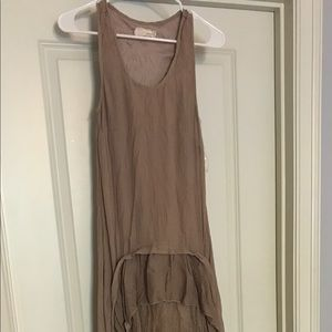 Gorgeous casual high-low ruffled dress